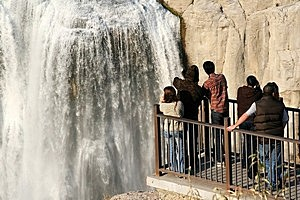Водопад Шошони в США