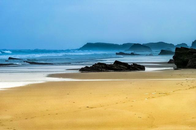Пляж Кафедральных Соборов Испания