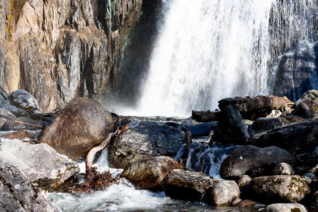 Водопад Корбу фото