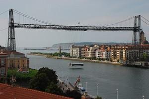 Бискайский мост в Испании