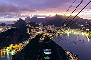 Time-lapse видео Рио-де-Жанейро