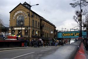 Рынок Камден в Лондоне