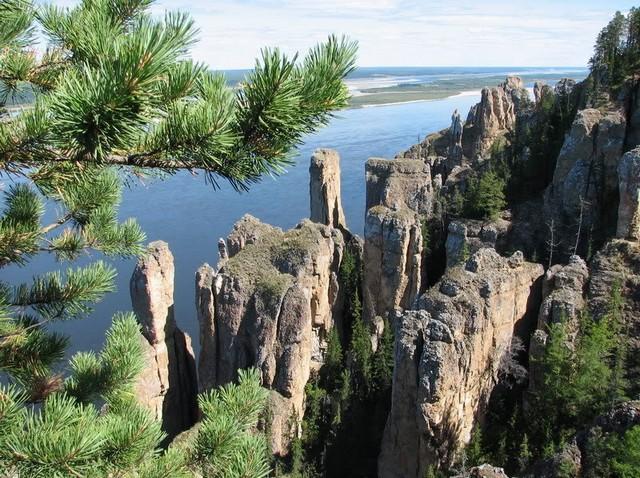 ленские столбы где находятся