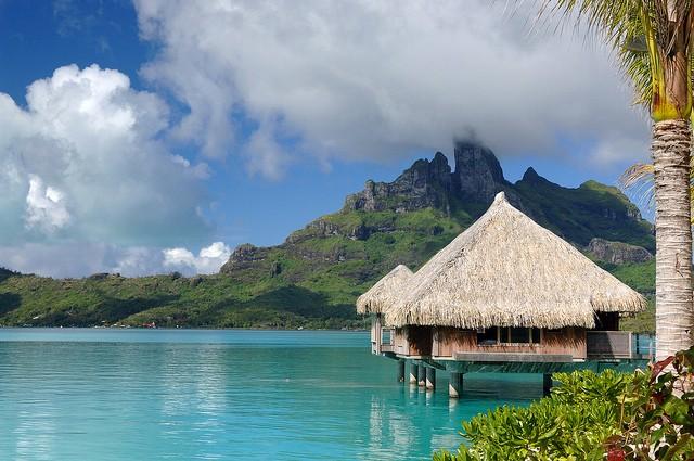 Остров Бора-Бора французская полинезия
