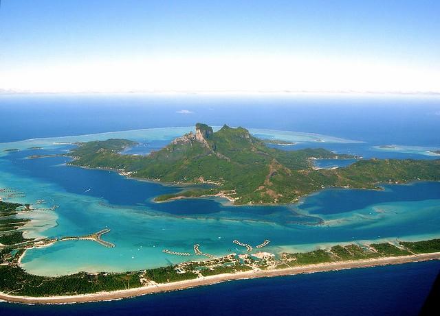 остров бора-бора на карте