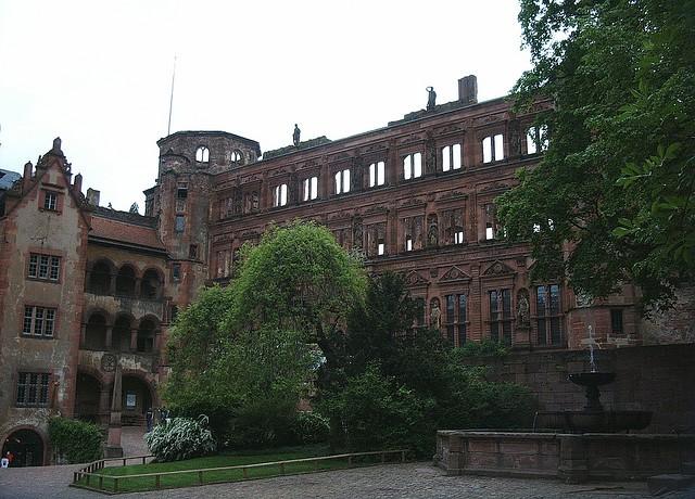 Гейдельбергский замок 09