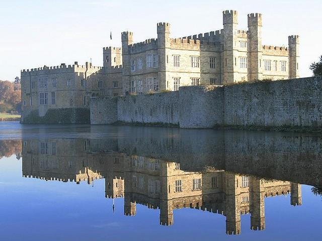 Замок Лидс (Leeds Castle) 02