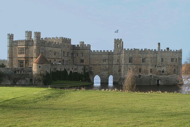 Замок Лидс (Leeds Castle) 06