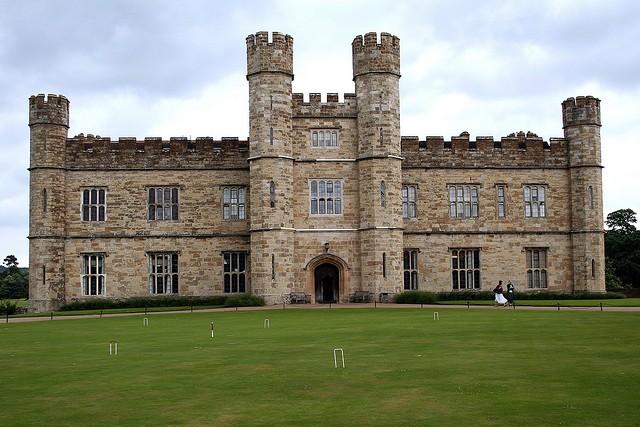 Замок Лидс (Leeds Castle) 07