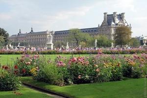 Сад Тюильри, Париж, Франция.