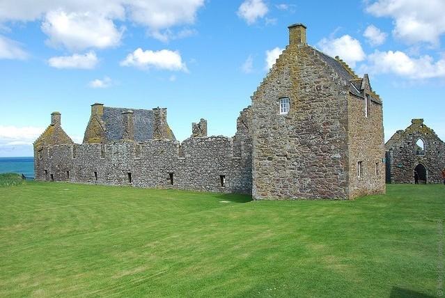 Замок Данноттар 13