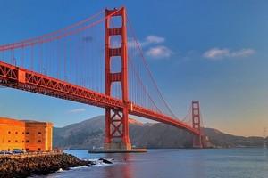 Мост Золотые Ворота, Сан-Франциско, США.