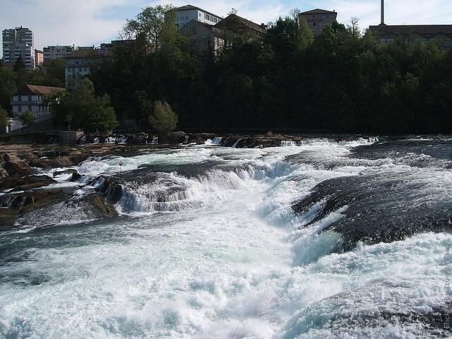 Рейнский водопад Штаффхаузен