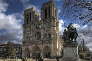 Собор Парижской Богоматери, Париж, Франция.