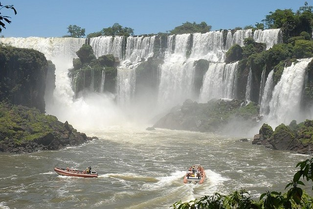 Водопад игуасу бразилия и аргентина
