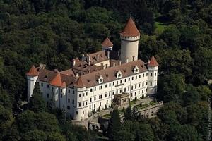Замок Конопиште, Чехия.
