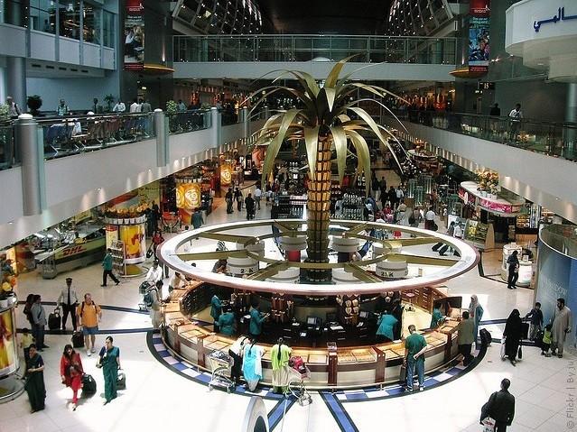 Международный аэропорт Дубай фото