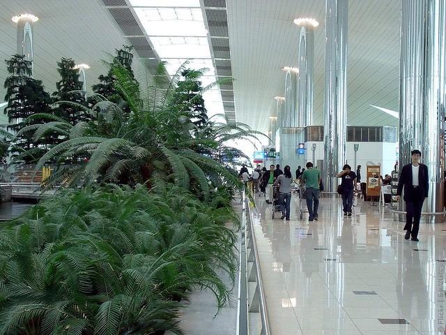 Аэропорт в Дубае ОАЭ