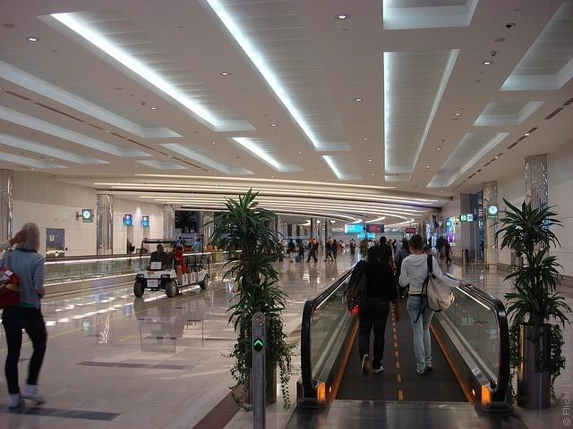 терминал 2 аэропорта дубай