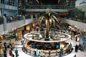 Международный аэропорт Дубай, ОАЭ.