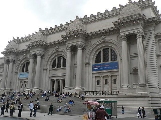 метрополитен-музей в нью-йорке сообщение