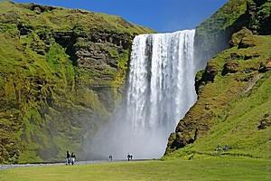 Скогафосс, Исландия