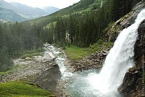 Водопад Криммлер, Австрия