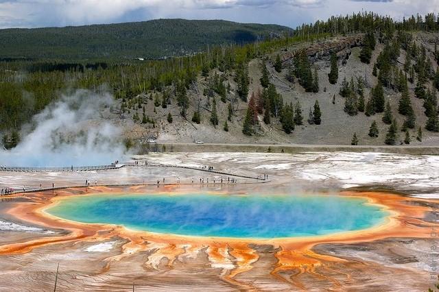 Йеллоустонский национальный парк США - ФОТО.