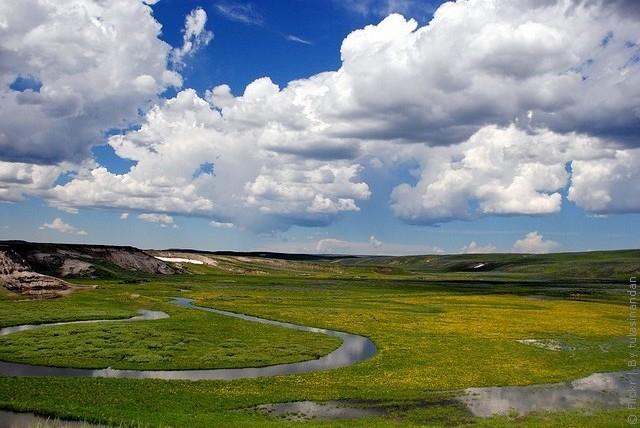 Йеллоустонский национальный парк, США. - США - Америка - это нужно ...