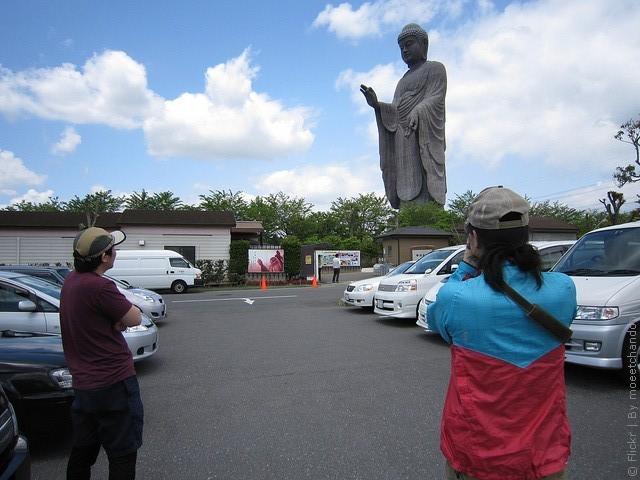 Статуя Будды Усику Дайбуцу 06