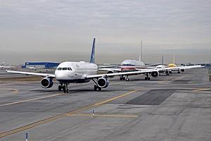 Международный аэропорт имени Джона Кеннеди, США.