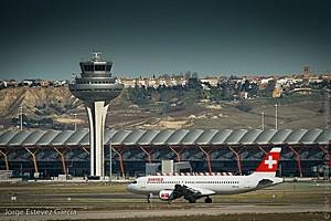 Аэропорт Мадрид-Барахас, Испания.