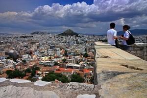 Город Афины, Греция.