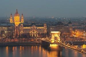 Город Будапешт, Венгрия.