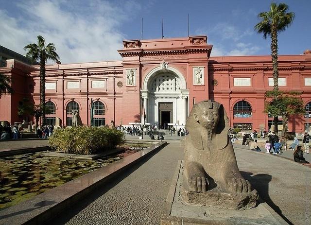 Каирский национальный музей, Египет - видео