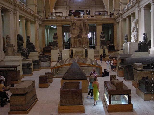 Каирский Египетский музей Каир