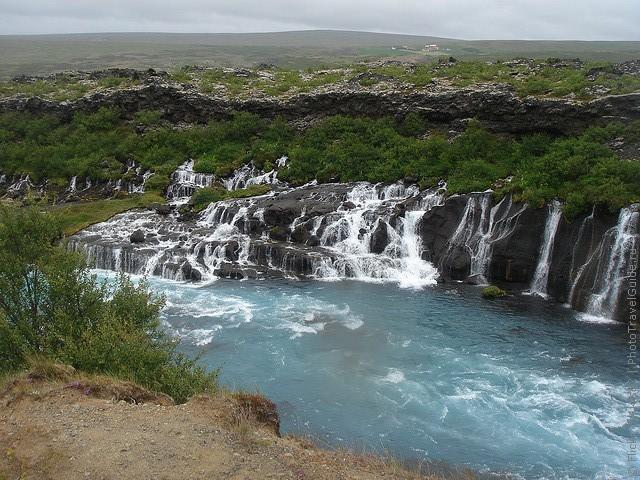 Водопад Храунфоссар 03