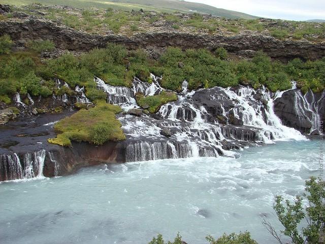Водопад Храунфоссар 04