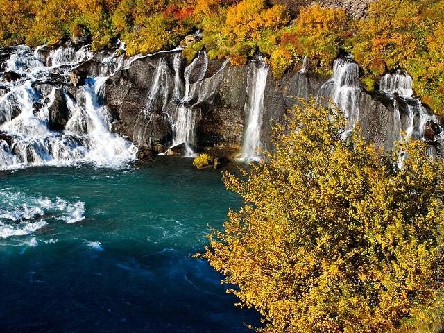 Водопад Храунфоссар 05