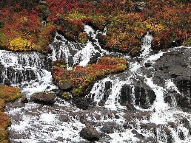 Водопад Храунфоссар 06