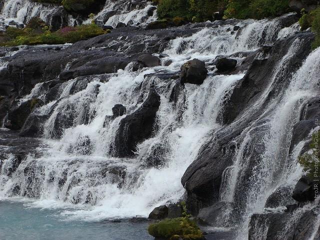 Водопад Храунфоссар 08