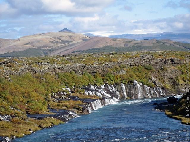 Водопад Храунфоссар 09
