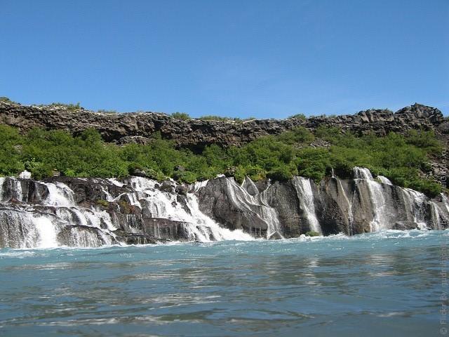 Водопад Храунфоссар 10