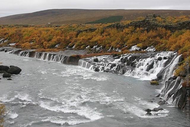 Водопад Храунфоссар 11