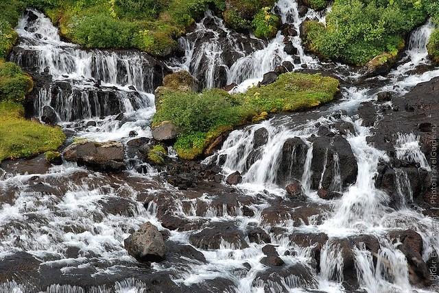 Водопад Храунфоссар 12