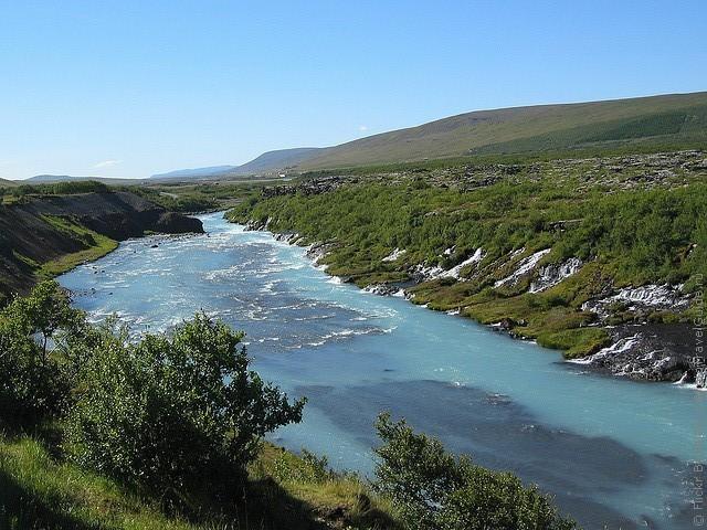 Водопад Храунфоссар 14