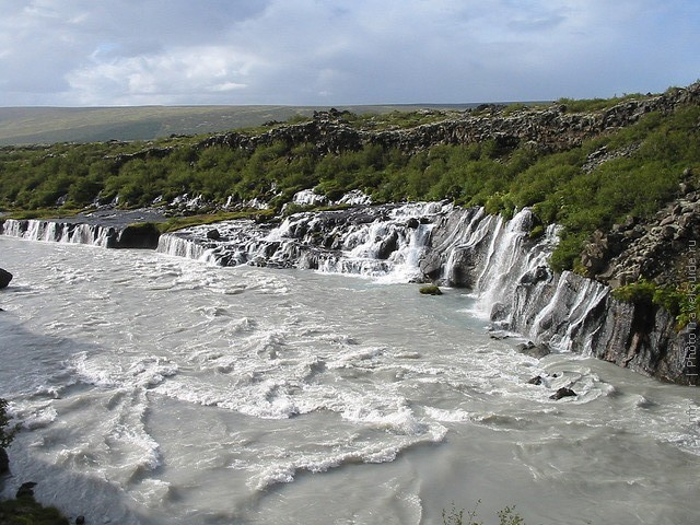 Водопад Храунфоссар 15