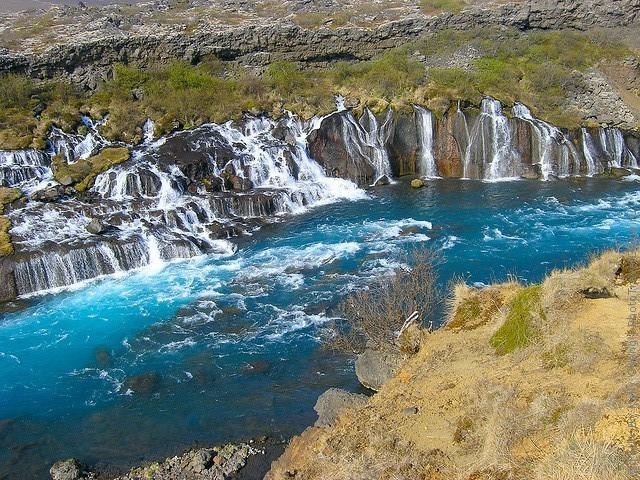 Водопад Храунфоссар 16