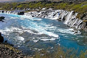 Храунфоссар, Исландия