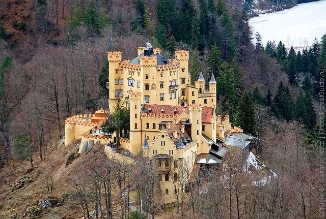 германия фото хоэншвангау замок